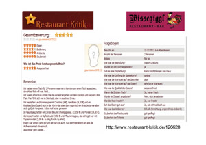 Restaurant-Kritik.De Suche
